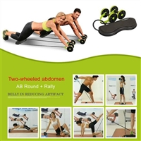 Double Wheel Power Ab Roller