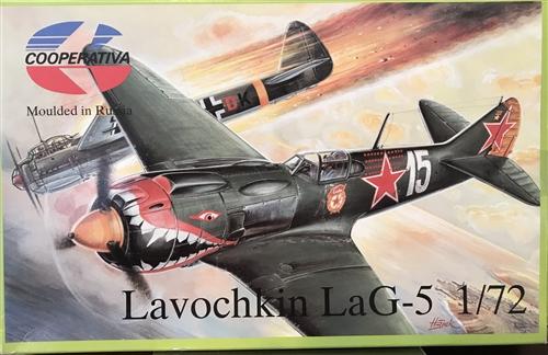 COOPERATIVA 1/72 Lavochkin LaG-5