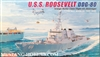 Dragon 1/700USS Roosevelt DDG80 Arleigh Burke Class Flight IIA Destroyer