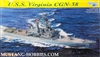 Dragon 1/700 USS Virginia CGN38 Nuclear Guided Missile Cruiser
