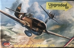 MPM Production 1/72 P-40 f/l Warhawk Upgraded Kit