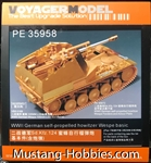 VOYAGER MODELS 1/35 WWII German self-propelled howitzer Wespe Basic Parts (TAMIYA