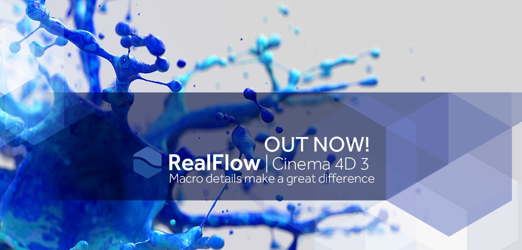 RealFlow for Cinema4D 3