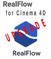 RealFlow for Cinema4D Upgrade