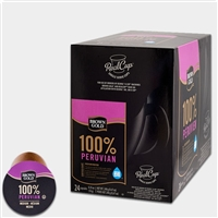 Photo of 100 Percent Peruvian Coffee K Cups by Brown Gold