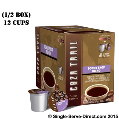 Photo of Donut Shop Blend Coffee K Cups by Caza Trail