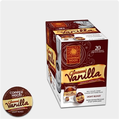 Photo of Caramel Vanilla Flavored Coffee Pods by Copper Moon