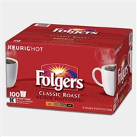Photo of Classic Medium Roast Coffee K Cups by Folgers