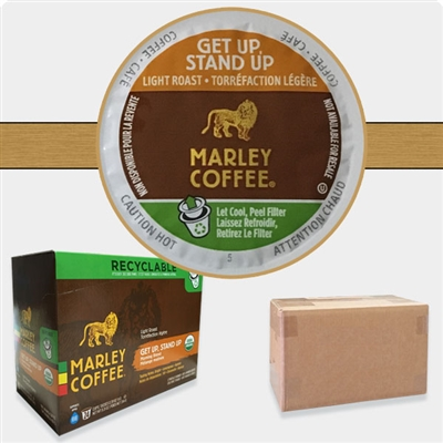 Photo of Get Up Stand Up Coffee K Cups by Marley Coffee