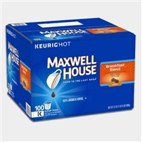 Photo of Breakfast Blend Coffee K Cups by Maxwell House