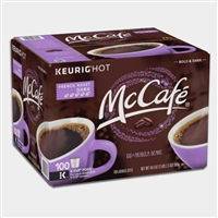 Photo of French Roast Premium Coffee K Cups by McCafe