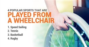 4 Popular Sports That Are Played From a Wheelchair