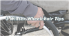 3 Winter Wheelchair Tips