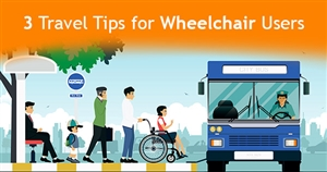 Top 3 Travel Tips for People Who Use Wheelchairs