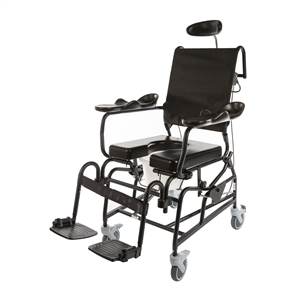 ActiveAid Bath Safety | ActiveAid 285 Tilt In Space Shower Commode Chair
