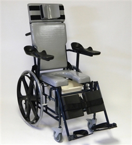 ActiveAid Bath Safety | ActiveAid 496-24 Traum-Aid Shower Commode Chair