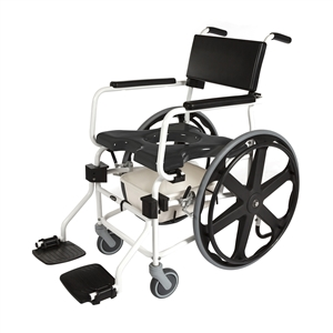 "ActiveAid Bath Safety Products | Top Brand Bathroom Safety | Activeaid 600 Rigid Shower Chair W/24"" Wheels"