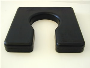 "ActiveAid Replacement Parts | 18"" Comfortuff Flat Seat"