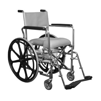 E&J Rehab Shower Commode Chair | Bathroom Equipment