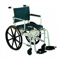 "Invacare Shower Chairs | Mariner Rehab Shower Commode Chair-16""W"