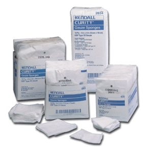 "Top Quality Wound Care | Curity Sterile Gauze Sponge, 8-ply, 2"" x 2"""