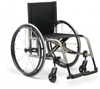 Ki Mobility Titanium Folding Wheelchairs | Ki Mobility Catalyst 5Ti Wheelchair