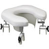 Top Brand Bathroom Safety | Lumex Multi-Position Padded Raised Toilet Seat