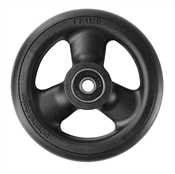 "Durable Wheelchair Parts & Accessories | 4"" x 1"" Composite Caster Wheel, 5/16"" Bearing"