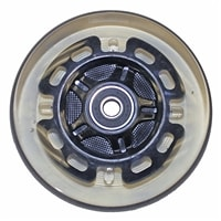 "Light-Up Wheelchair Casters | 4"" x 1"" Light-Up Caster Wheel"