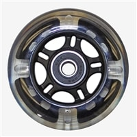 "Wheelchair Parts & Accessories | 3"" x 1"" Light-Up Caster Wheel, 5/16"" Bearing"