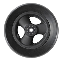 "Durable Wheelchair Parts & Accessories | 6"" x 1-1/4"" Composite Caster Wheel, 5/16"" Bearing"