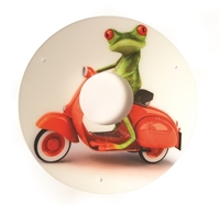 Scooter Frog Spoke Guards by Spozee
