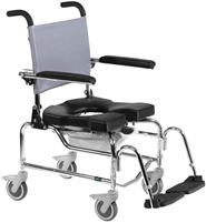 RAZ-AP Stainless Steel Rehab Shower Chair