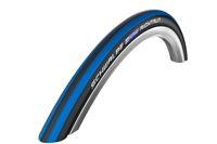 "Schwalbe Wheelchair Tires | 24"" x 1"" (25-540) Schwalbe Blue/Black RightRun Tire"
