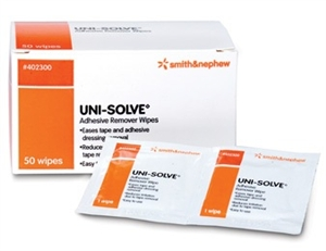 Save on Urological Supplies | Smith & Nephew Uni-Solve Adhesive Remover Wipes