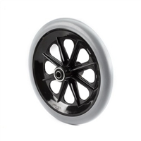"Wheelchair Parts & Accessories | 8"" x 1"" Caster Wheel, 7/16"" Bearing"