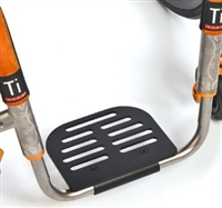 TiLite Parts and Accessories | TiLite Angle Adjustable Aluminum Footrest