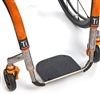 TiLite Parts and Accessories | TiLite Titanium Footrest w/ABS Cover