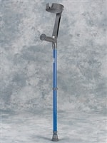 Adult Forearm Crutches with Adjustable Full Cuffs