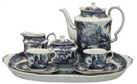 Cathedral Tea Set