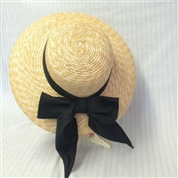 Large Brimmed Ladies Straw Hat