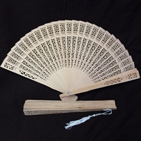Sandal Wood Fan