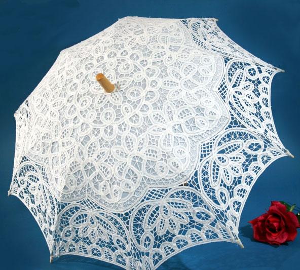 battenburg lace parasol
