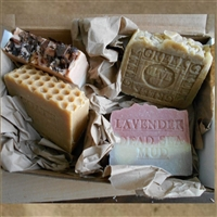 Handmade Artisan Natural Four Artisan Soap (Gift Set)