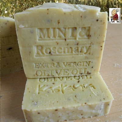 Limited Edition Extra Virgin Greek Organic Olive  Oil Peppermint And Rosemary
