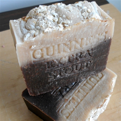 Beer Soap Handmade  Grandma's Artisan Bar Soap Oatmeal Stout Beer - Handcrafted Natural Skin Care Soap Gentle Exfoliate