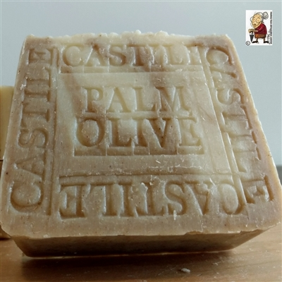 Castile Olive- Palm with Cocoa Butter Soap Bar Unscented Artisan Handmade