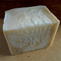Artisan All Natural Castile Palm Coconut Soap  Unscented