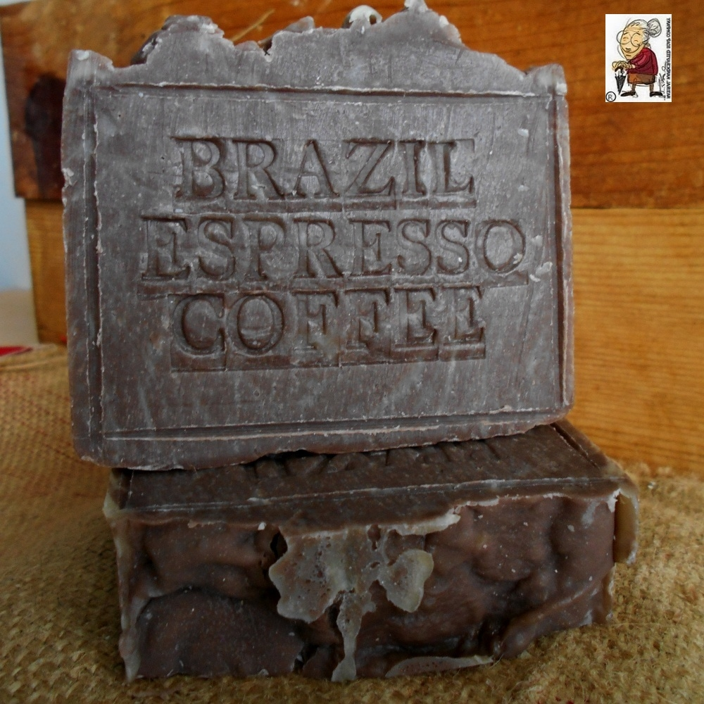Brazilian Coffee Soap Espresso Scrub Bar - Natural Artisan Handmade