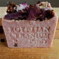 Limited Edition Large Aged Egyptian Geranium Soap  14 OUNCE !
